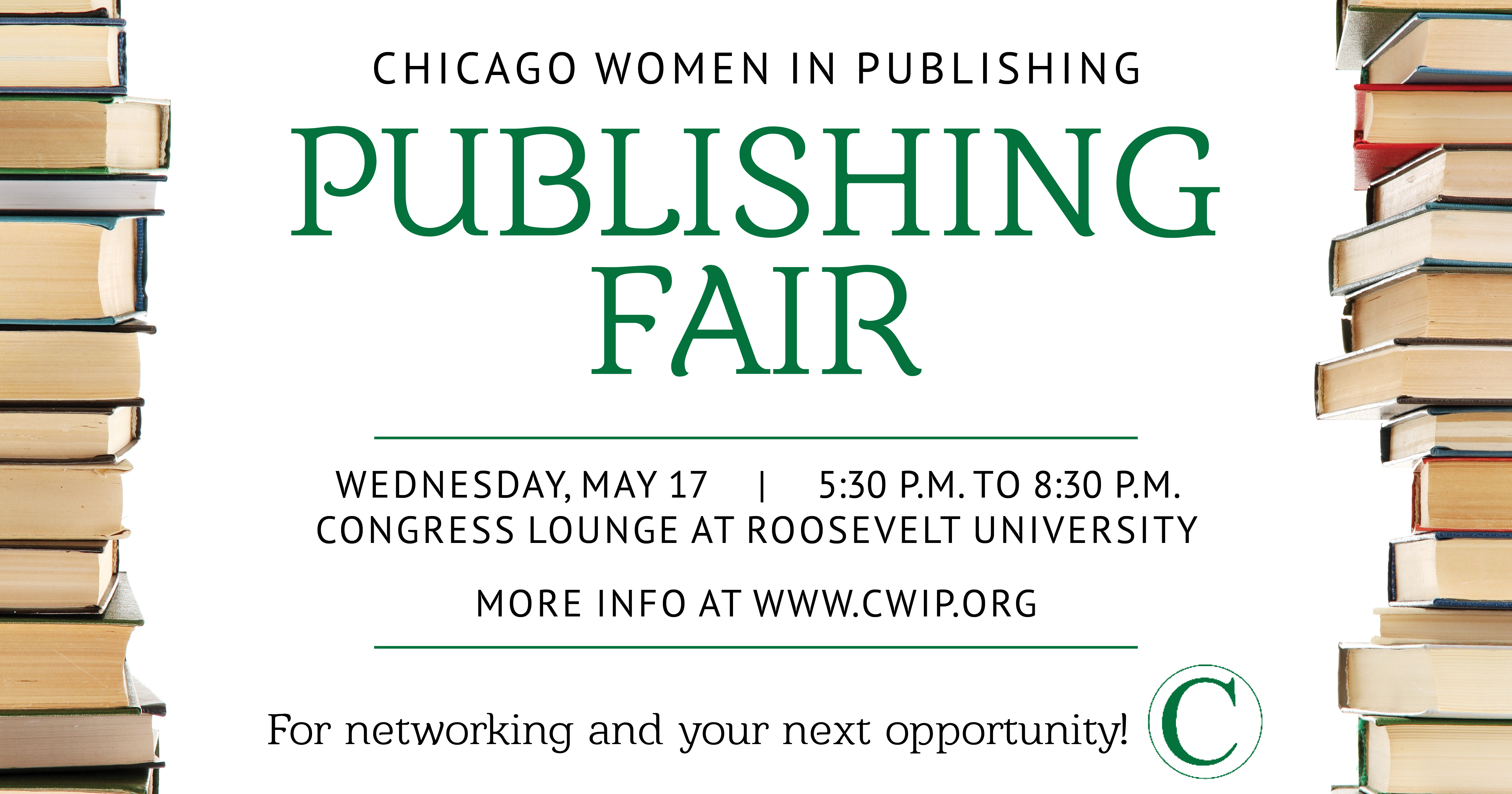 Network with Chicago's Publishing Professionals at CWIP's Publishing Fair.