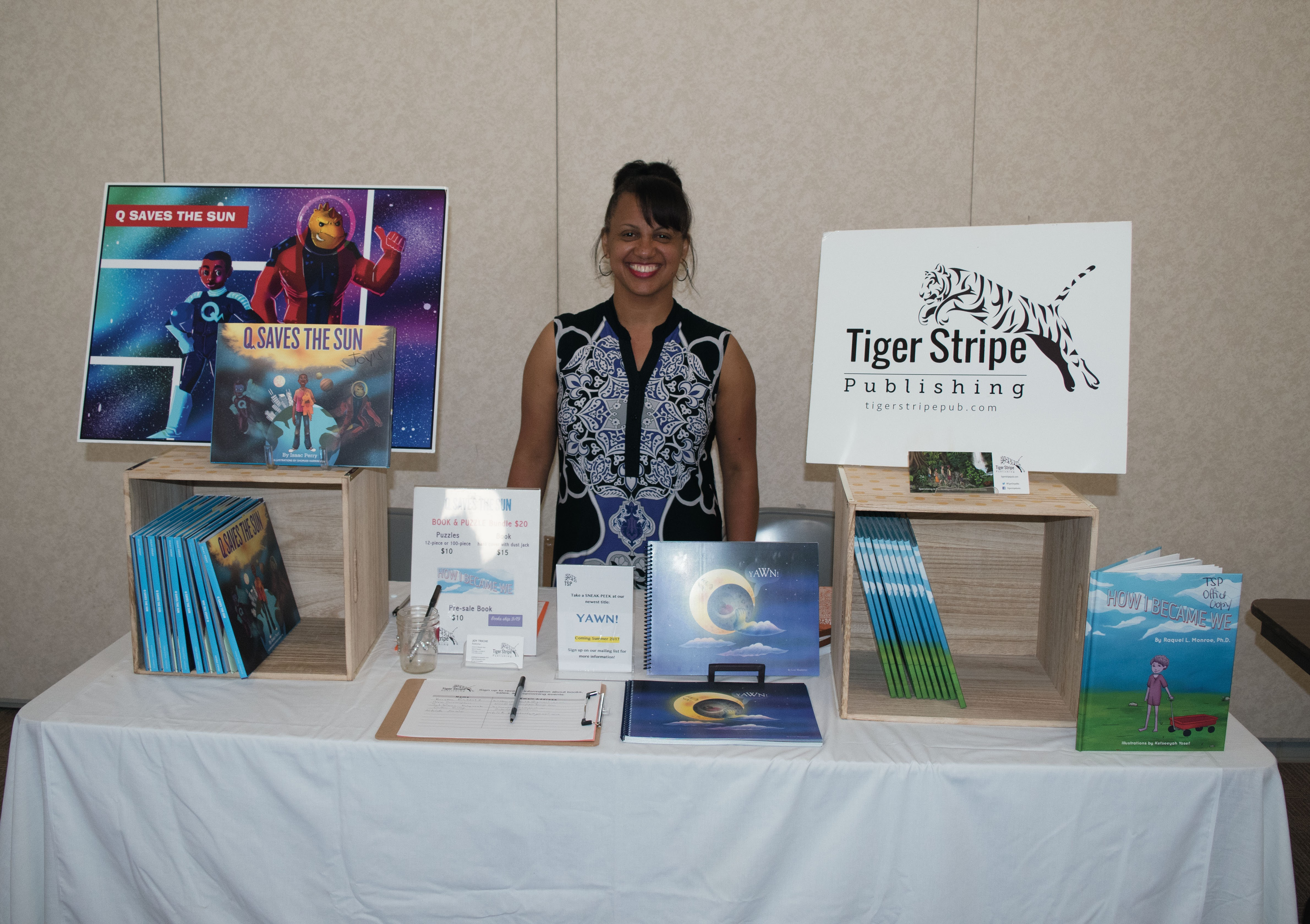 Learn how Joy Triche created her own independent publishing company for diverse children's books
